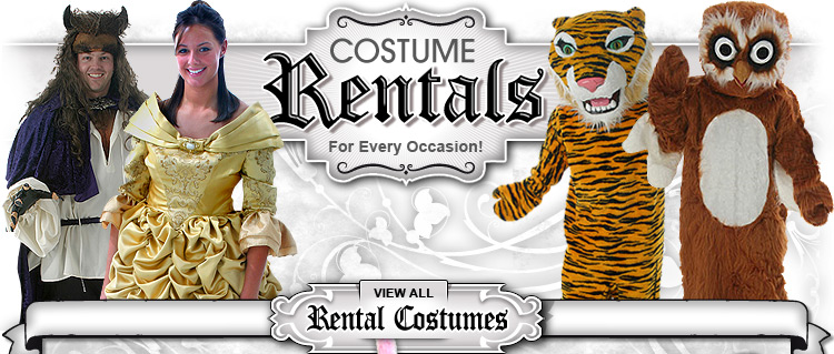 Rental Costumes for Every Occaision!