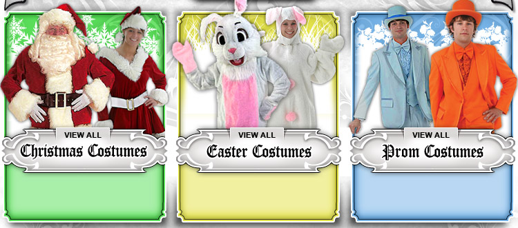 Christmas, Easter and Prom Costumes